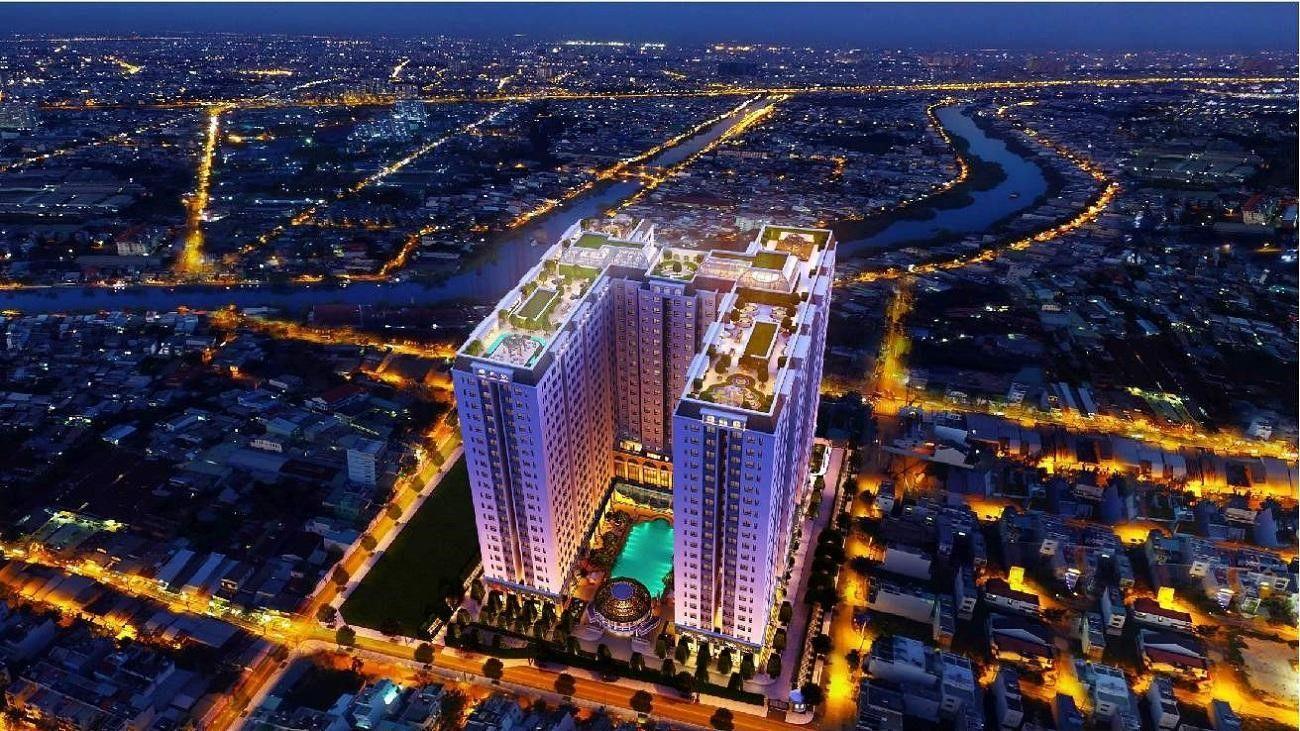 Chung cư Dream Home Riverside